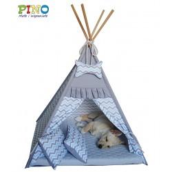 Tipi namiot dla twojego psa, kota Legowisko indiańskie