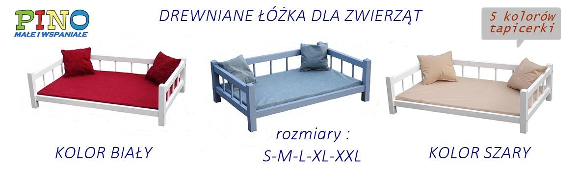 Drewniane łóżko Dla Psa Lub Kota W Skandynawskim Stylu
